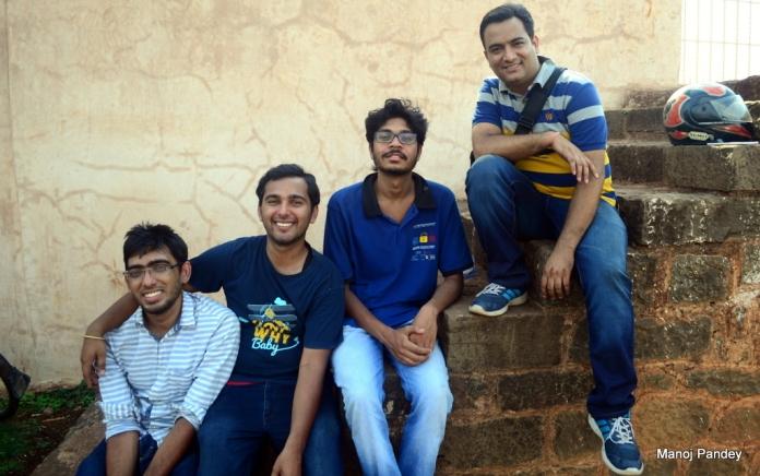 Abhinav, Prakhar, Aditya, Manoj
