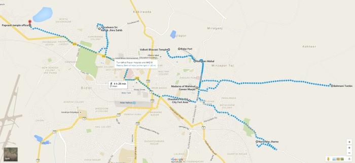 Bidar Map