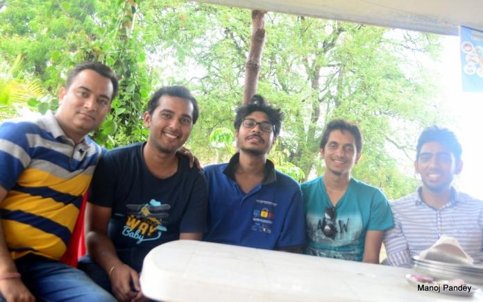 Manoj, Prakhar, Aditya, Swaraj, Anubhav