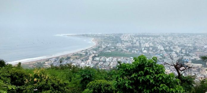 Vizag from Kailashgiri